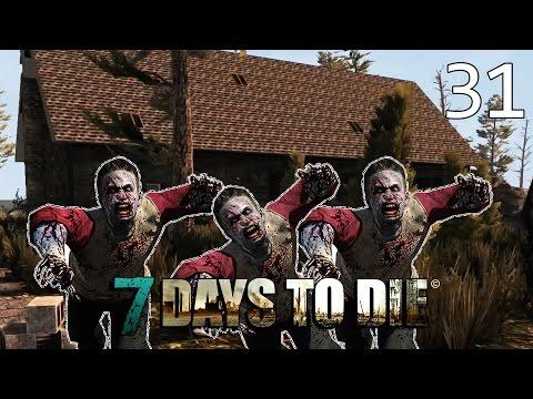 7 Days To Die [#31] ATAK ZOMBIE NA DOMKI!
