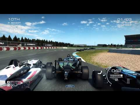 FordSVT Gaming Plays: Grid Autosport Ep. 3