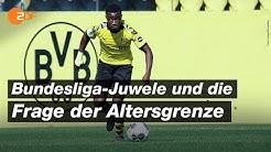 Darf Moukoko bald in der Bundesliga spielen? | SPORTreportage - ZDF