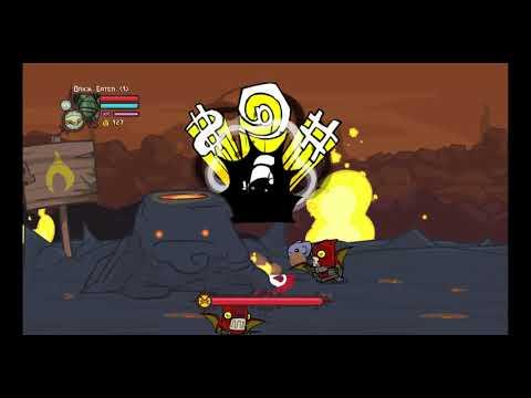 Castle Crashers all bosses on insane mode