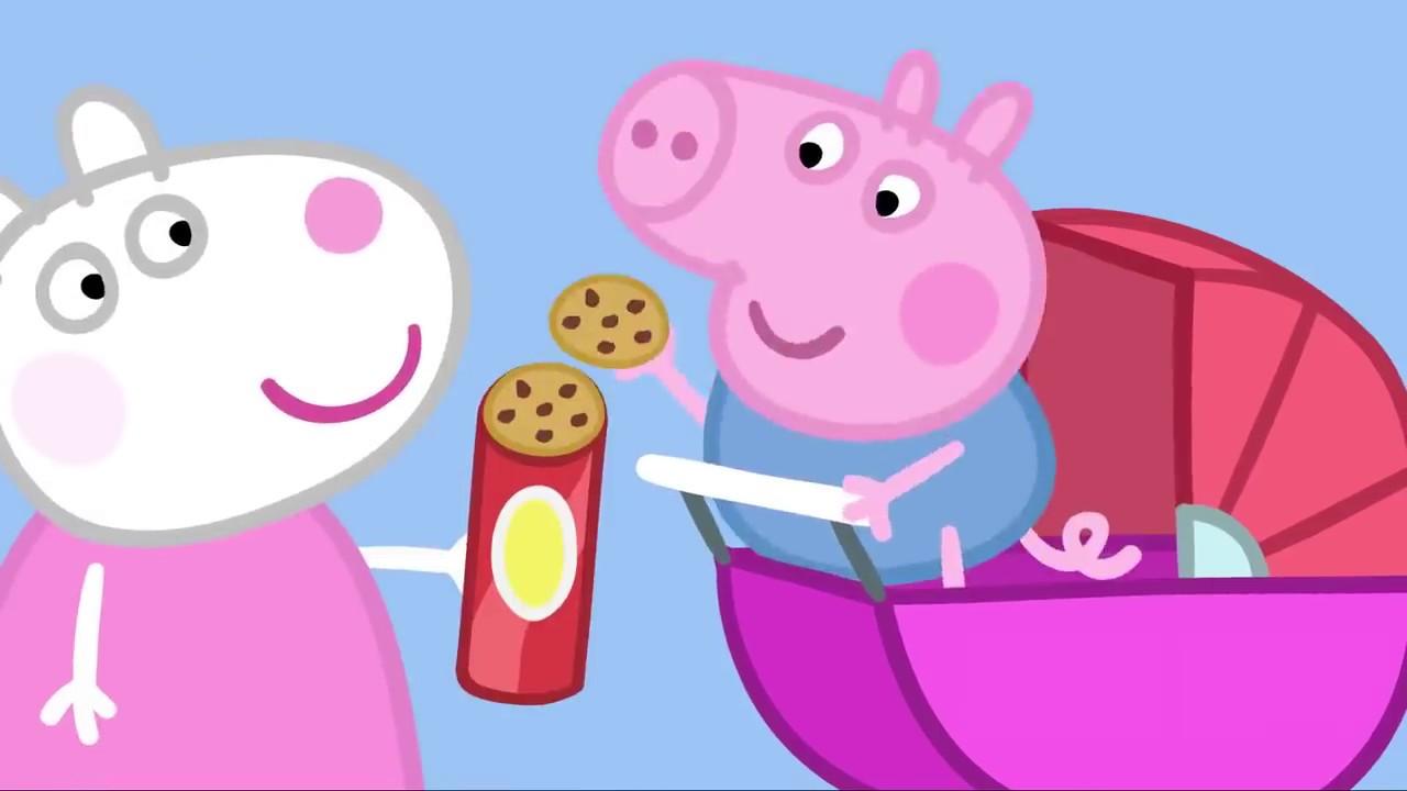 Peppa Pig Português Brasil | O Porquinho Bebê | HD | Desenhos Animados