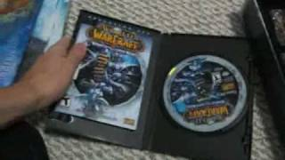 WoW Wrath of Lich King COLLECTORS EDITION unboxing