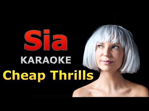 Sia - Cheap Thrills Karaoke - Pitch Perfect 3 Soundtrack