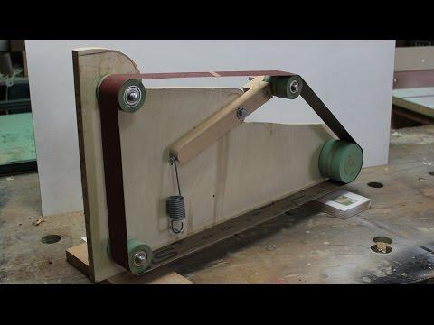 """Homemade Belt Sander / Grinder/ 2""""x72"""" - part 1-  Build the Frame"""