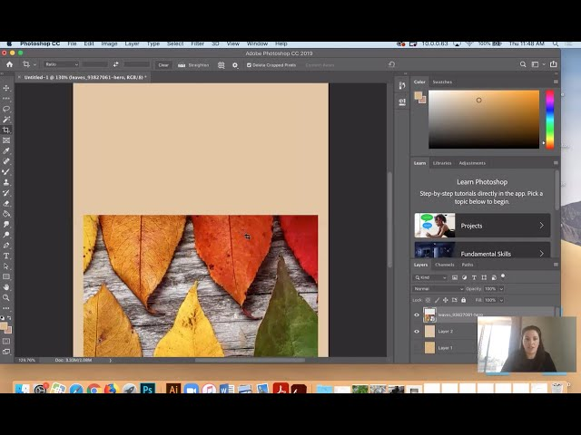 Photoshop Holiday Card with Zoe Tessier