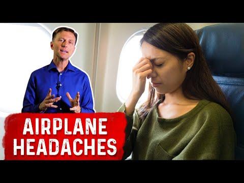 Prevent Headaches While in an Airplane