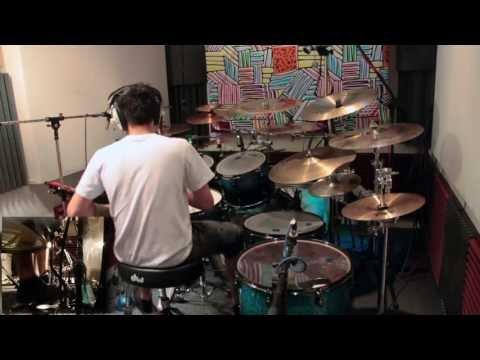 These Colours Don't Run Drum Cover By Kyri Demetriou (Studio Recording)