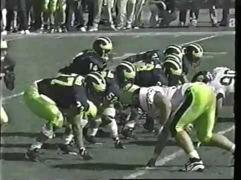 1997 Michigan Football Highlights WXYZ