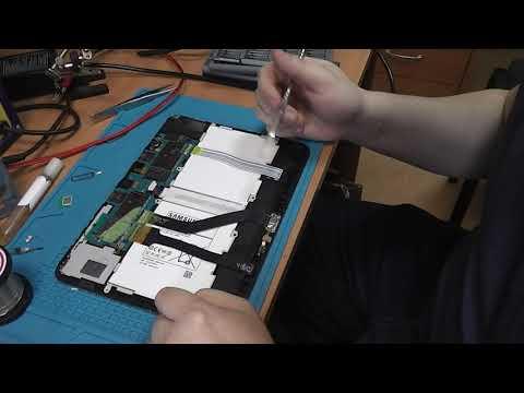 Samsung Galaxy Tab 4 (t531) - разборка, замена разъема, замена аккумулятора