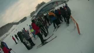 видео Горнолыжный комплекс Ян в Алметьевске (Almetjevsk)