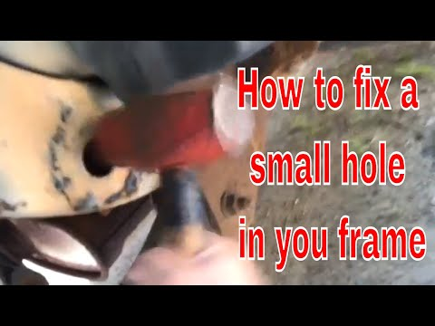 How To Weld A Small Hole In You Car Or Truck Frame