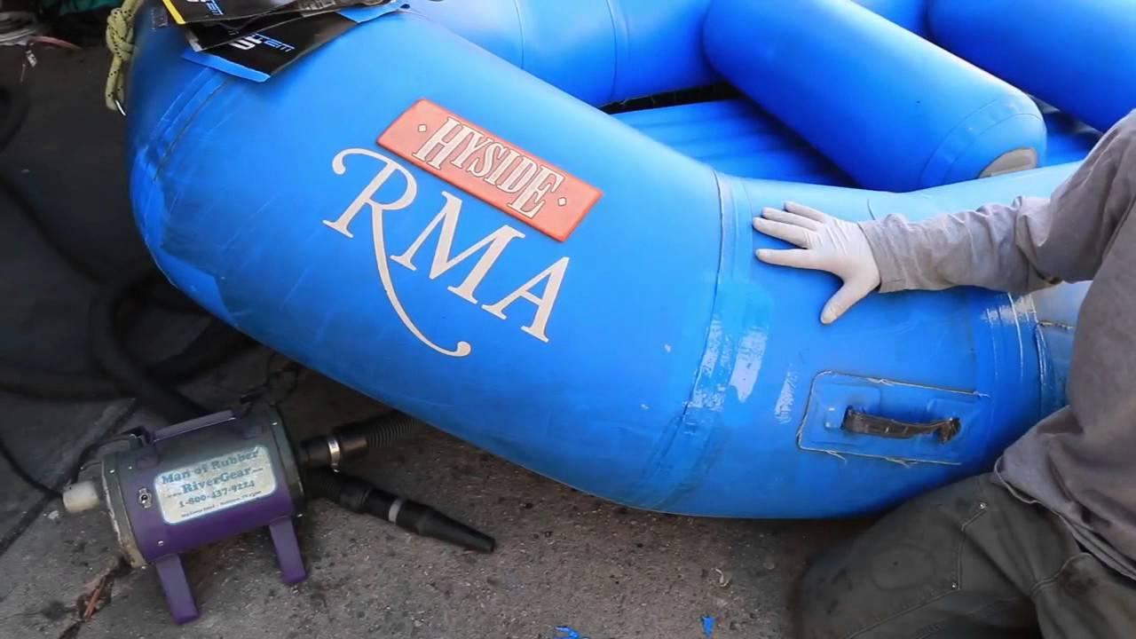 Raft Repair System 6 Urethane Coatings Instructional Video - RiverGear Man  of Rubber