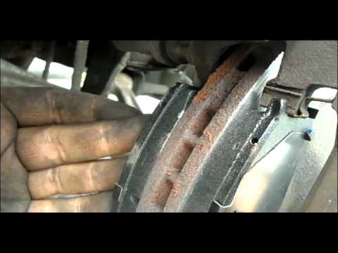 how to change brake pads on a 1991 toyota previa youtube. Black Bedroom Furniture Sets. Home Design Ideas
