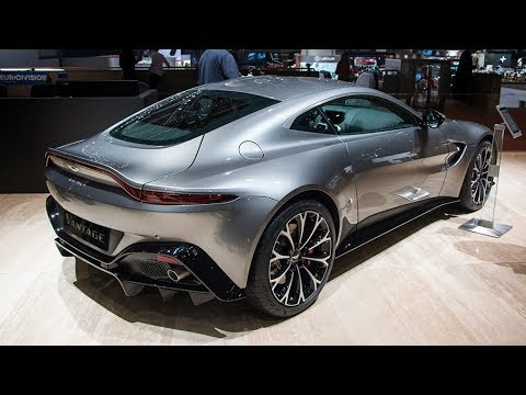 Aston Martin Vantage -  Inside, Details, Boot, and Overview!!