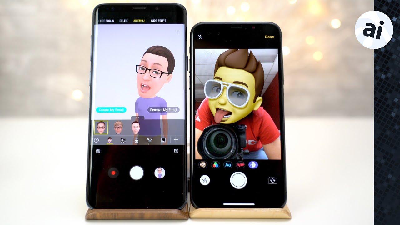 Animated emoji on iphone xs max