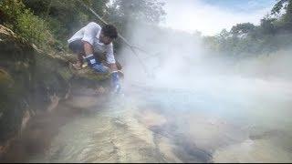 ¡Der Kochende Fluß im Amazonas Tötet Alles Was Sich Hineinwagt