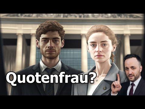 Frauenquote im Bundestag - Ist die Quotenfrau verfassungswidrig ? | Herr Anwalt