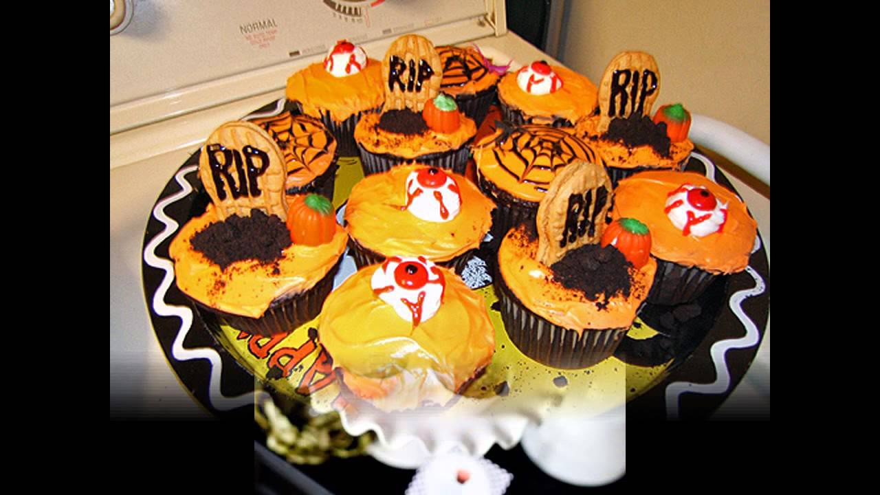 cool halloween cupcake decorating ideas