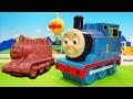 トーマスから小さなチョコレートがいっぱい❤機関車トーマスおもちゃアニメ animation Toy