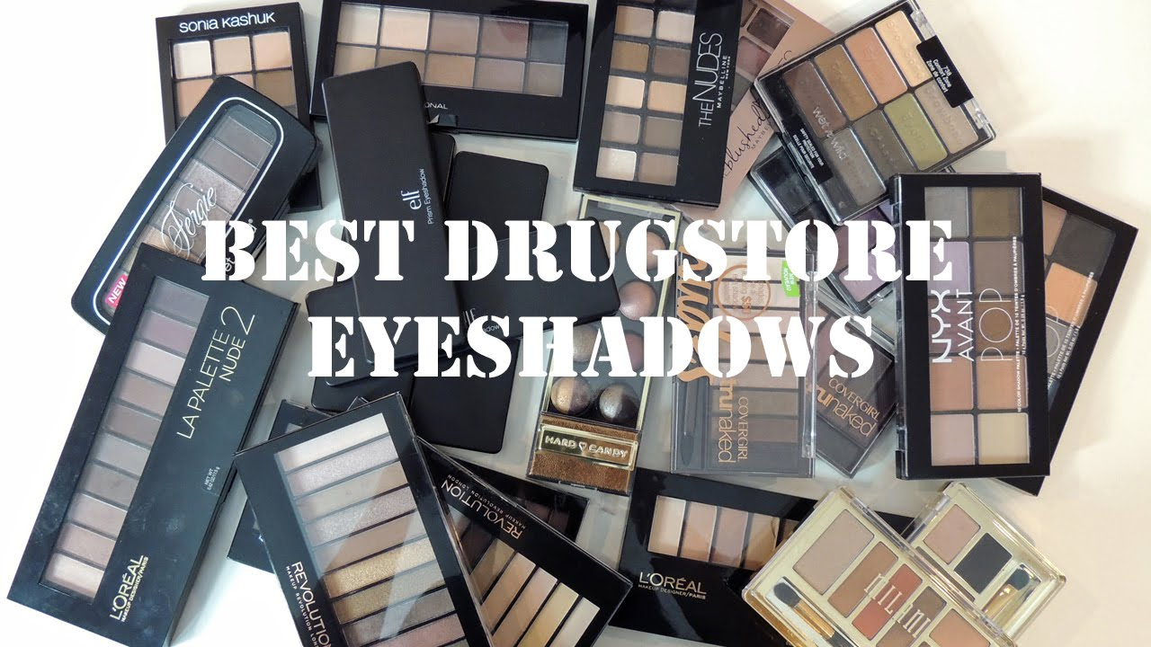 Best & Worst Drugstore Eyeshadow Palettes - YouTube