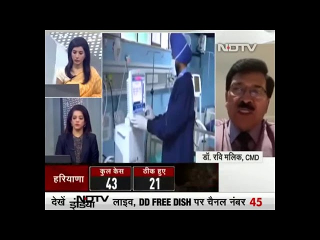 Questions-Answer session on Coronavirus disease by Dr Ravi Malik, CMD-Radix Healthcare at NDTV-India