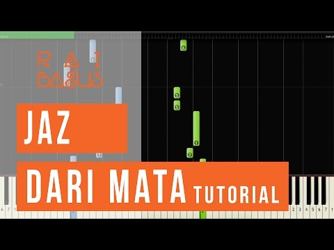 Jaz -Dari Mata Piano Tutorial (Sheet Music)