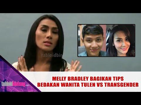 Melly Bradley Berbagi Tips Cara Membedakan Antara Perempuan Atau Transgender