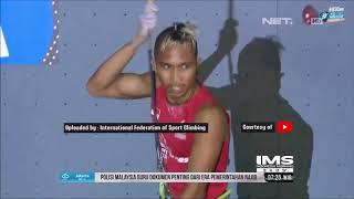 Diremehkan Atlet Panjat Tebing Indonesia Harumkan Nama Negara