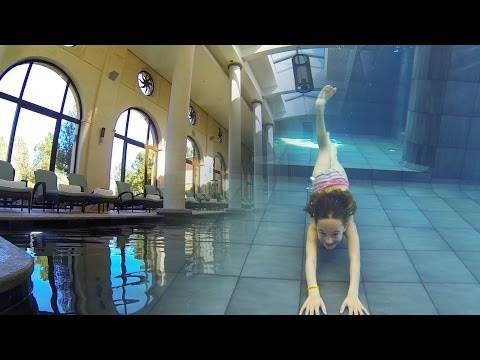 Carla Underwater - Amazing Inside swimming Pool