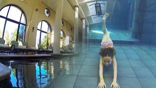 Carla Underwater - Amazing Inside swimming Pool