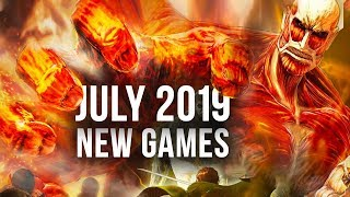 Top 10 NEW Games of JULY 2019