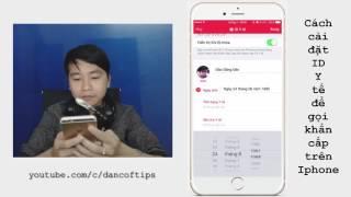 Hướng dẫn cài đặt cuộc gọi khẩn cấp trên Iphone khi bị nạn