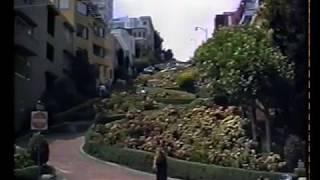 1991 - California - San Francisco, Lombard Street, la strada più tortuosa del mondo