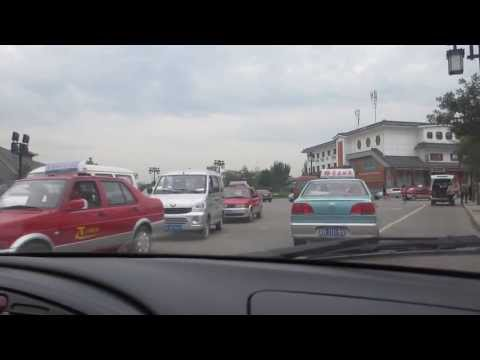 Taxi Ride in Datong China