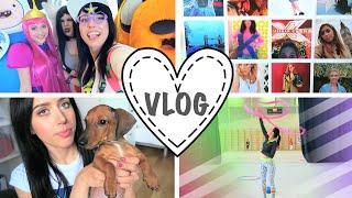 VLOG: Найдена жизнь вне YouTube / ComicCon / Йога не мое...