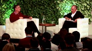 Conversation on Philanthropy with Bill Gates and Sir Michael Moritz