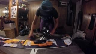 GNU Snowboard Set Up