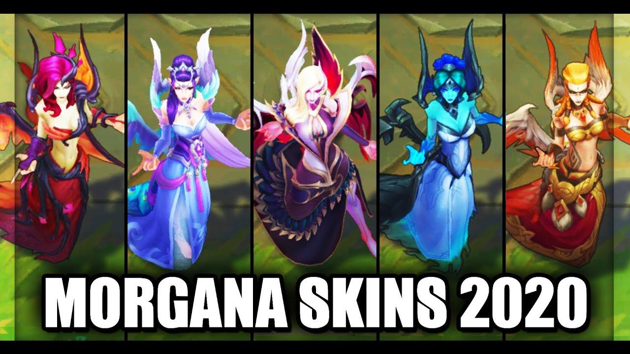 All Morgana Skins Spotlight 2020 (League of Legends)