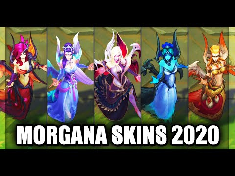 All Morgana Skins Spotlight 2020 (League of Legends)