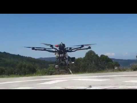 Así funcionan los drones de alta tecnología que se usarán en la lucha contraincendios