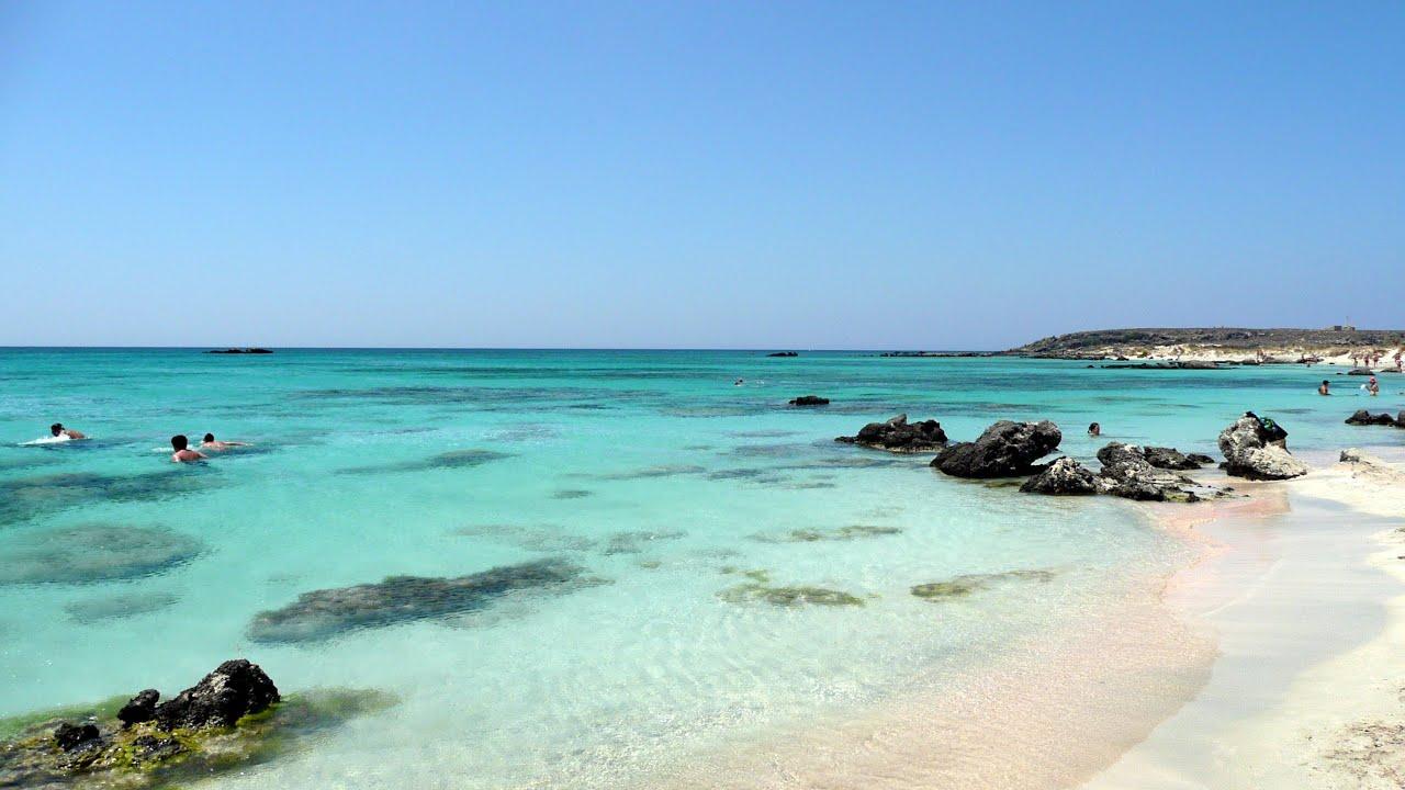 Elafonisi Beach Crete Greece