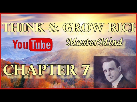 Think And Grow Rich Chapter 7 ORGANIZED PLANNING Napoleon Hill Full 1937 Version Audio Book