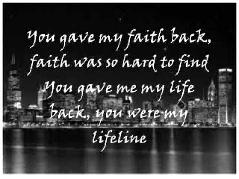 Jennifer Hudson - You Pulled Me Through With Lyrics