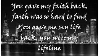 Jennifer Hudson - You Pulled Me Through With Lyrics