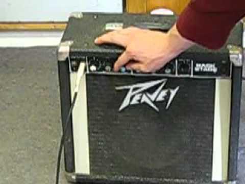 vintage 1980s peavey backstage guitar amp for sale on ebay youtube. Black Bedroom Furniture Sets. Home Design Ideas