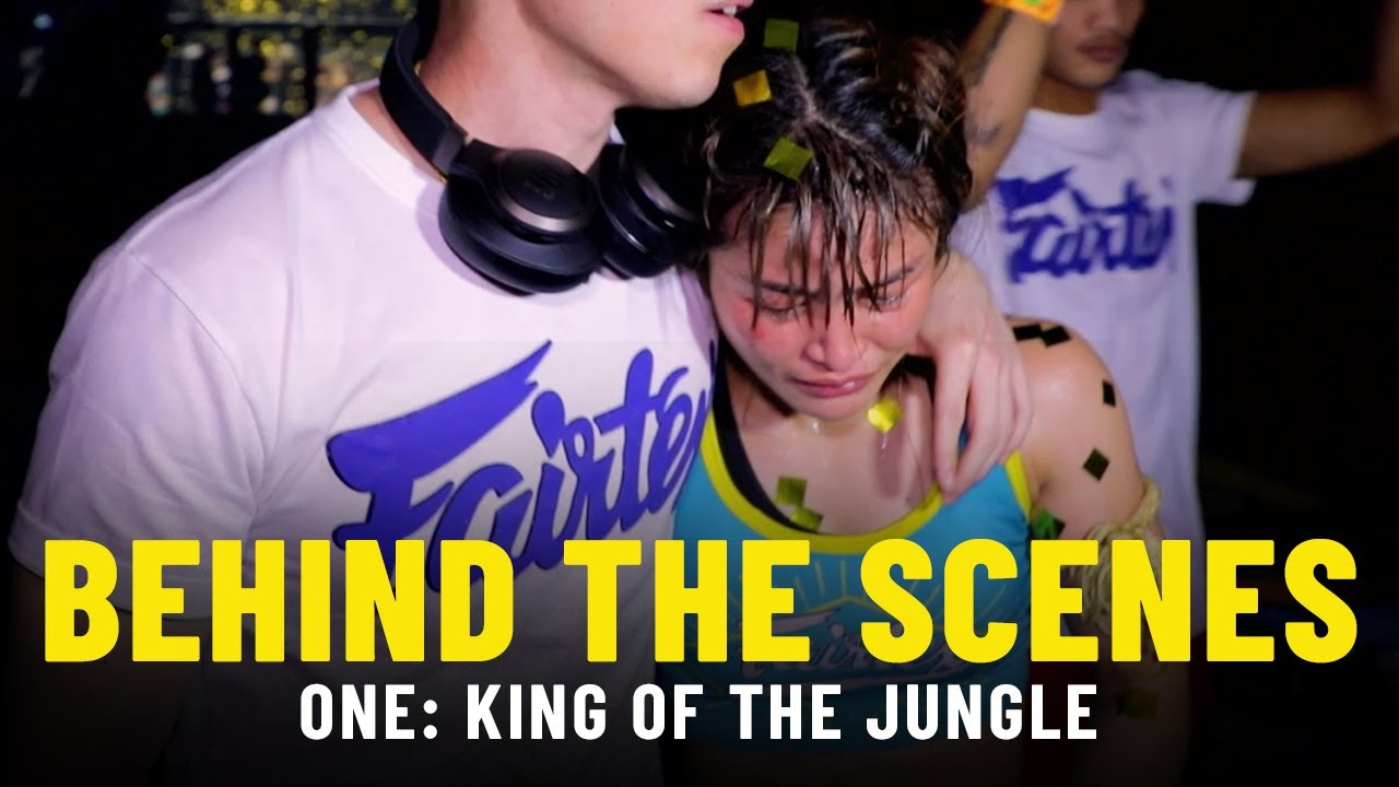 Behind The Scenes At ONE: KING OF THE JUNGLE | Stamp Fairtex, Janet Todd & More