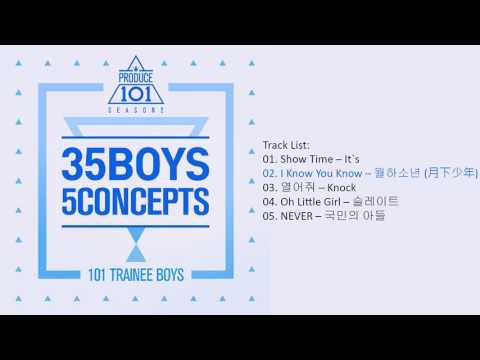 [Mini Album] PRODUCE 101 S2 – 35 Boys 5 Concepts