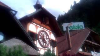 Die Weltgrößte Kuckucksuhr in Triberg im Schwarzwald