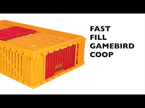 How To : Assemble Your Fast Fill Game Bird Coop, COOP 7