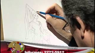 How to draw a fairy Godmother 2/ Cómo dibujar una hada madrina 2
